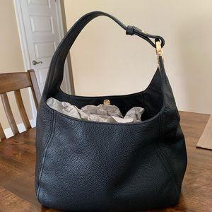 Michael Kors Lg Leather Fulton Hobo Shoulder Bag